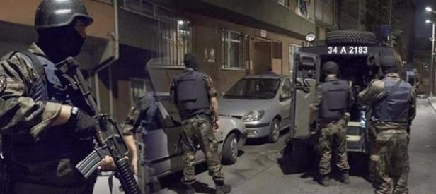 İstanbulda eş zamanlı DAEŞ operasyonu