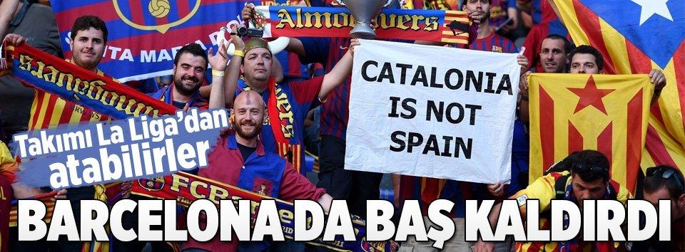 Barcelonadan Katalan halkını destekliyoruz açıklaması