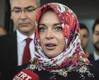 Lindsay Lohan: Başörtüsü taktım diye...