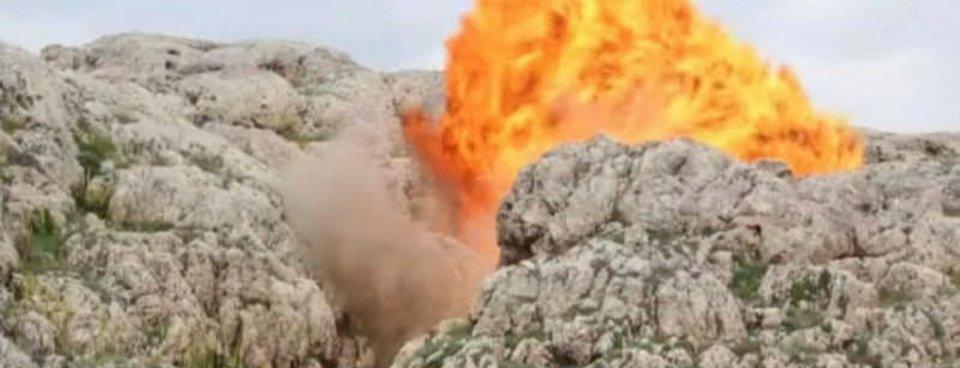 Siirtte PKKlı kalleşlerin inlerine girildi!