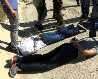 Hatayda bombalı saldırı hazırlığındaki 5 terörist yakalandı