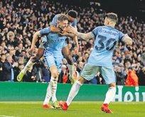Manchester City'den muhteşem geri dönüş