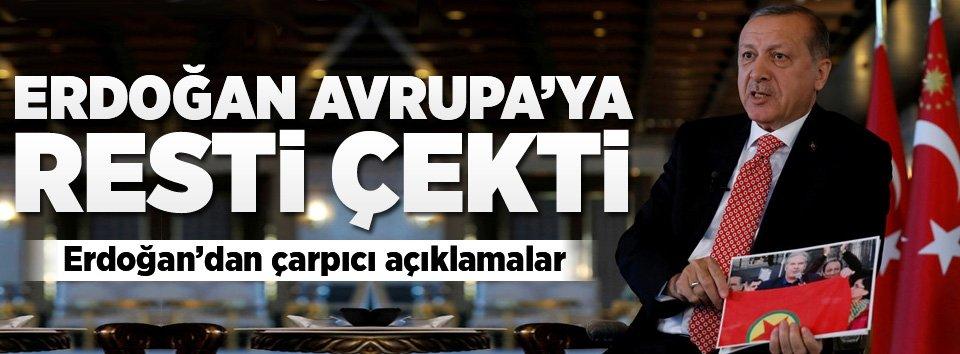 Cumhurbaşkanı Erdoğandan AKPM açıklaması