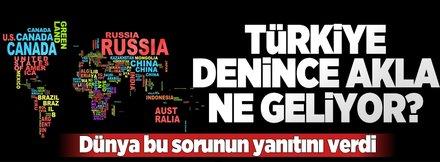 Türkiye denince akla ne geliyor?