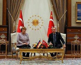 Erdoğan Merkel'i o ifadesinden dolayı uyardı