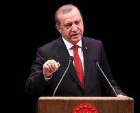 Erdoğan: Senin her yerin yaptırım olsa ne yazar!