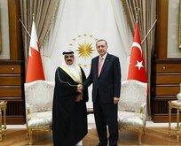 Bahreyn Kralı Türkiyede