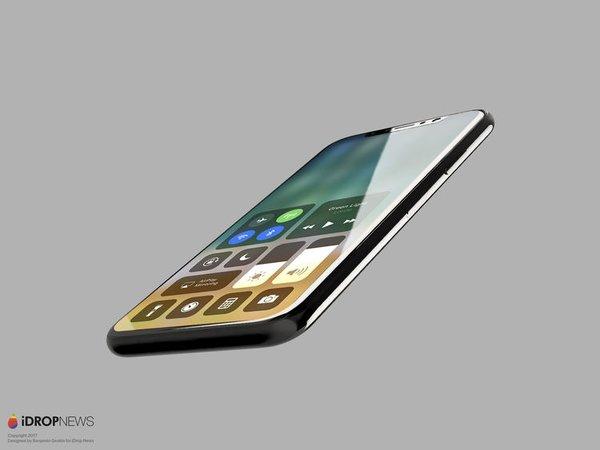 İşte iOS 11'li iPhone 8'in görüntüsü!