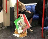 Metro ve otobüslerdeki ilginç insanlar