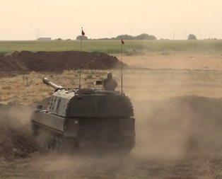 Irak sınırında dev tatbikat