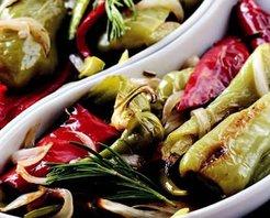 Fırınlanmış Biber Salatası Tarifi