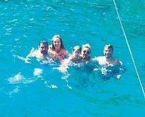 Bodrum'da deniz keyfi