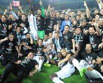 TFFden Beşiktaşa kutlama mesajı