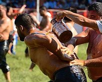 656.Tarihi Kırkpınar güreşleri başladı