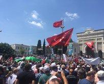 Türkiye Mescid-i Aksa için 81 ilde ayakta!