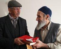 Baba Halisdemirden Safitürk ailesine ziyaret