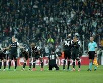 Beşiktaş UEFA Avrupa Ligi'ne veda etti!