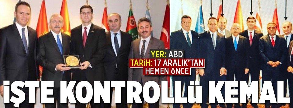FETÖ imamlarından Kılıçdaroğluna plaket
