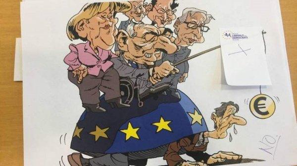 Avrupa Parlamentosu'nda karikatür sansürü