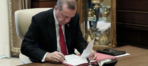 Cumhurbaşkanı Erdoğandan 2 kanuna onay