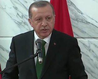 Cumhurbaşkanı Erdoğandan kritik uyarı