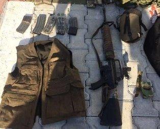 PKKlı terörist, ABD yapımı M-16 ile yakalandı