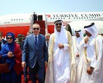 Bölgeye güç 'Katar'
