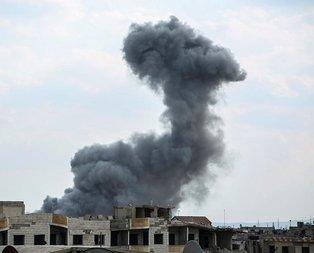 Şamda sivillere hava saldırısı!