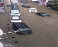 Yağmur ve dolu Ortaköyü vurdu