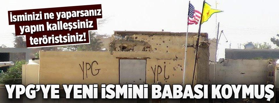 YPGnin ismini ABD değiştirdi