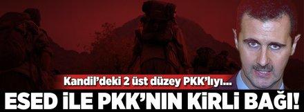 """Esed ile PYD/PKK'nın """"derin"""" bağları"""
