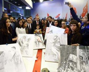 Cumhurbaşkanı Erdoğan 4. İstanbul Kitap Fuarında