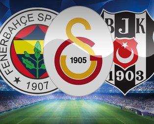 UEFA dev listeyi açıkladı! F.Bahçe, G.Saray ve Beşiktaş...