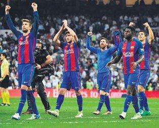 Dev derbi Barcelona'nın