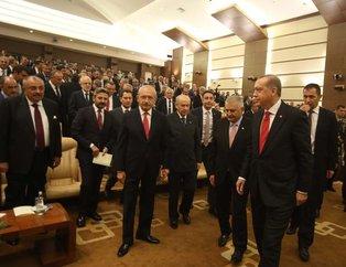 AYM'nin 55. kuruluş yıl dönümü programında buluştular
