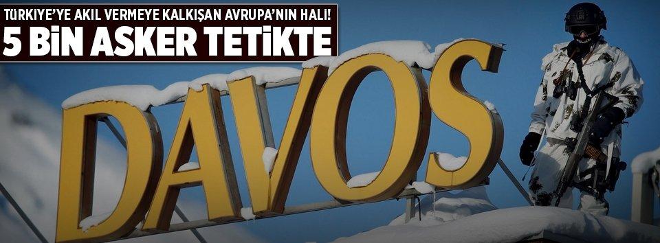 Suriye değil Davos