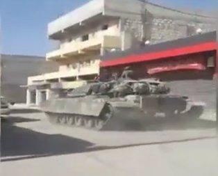 TSK Suriye kasabalarına böyle girdi
