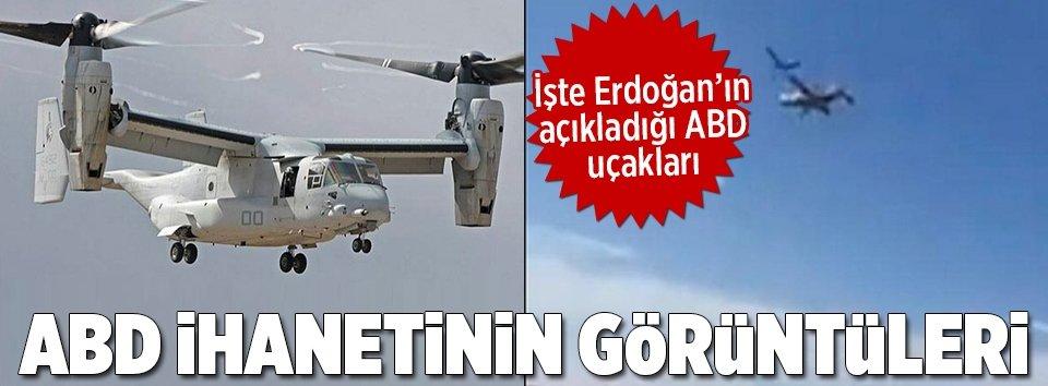 Erdoğan'ın bahsettiği uçaklar bunlar mı?