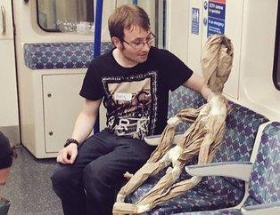 Metro ve otobüslerde kaydedildi...
