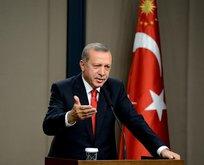 Cumhurbaşkanı Erdoğana büyük sürpriz