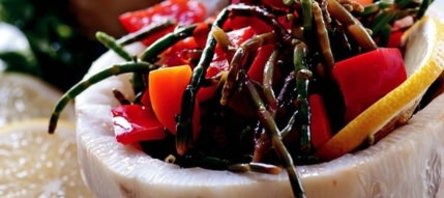 Kereviz Çanağında Deniz Börülcesi Salatası Tarifi