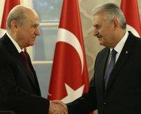 Başbakan Yıldırım, Devlet Bahçeli ile görüşecek