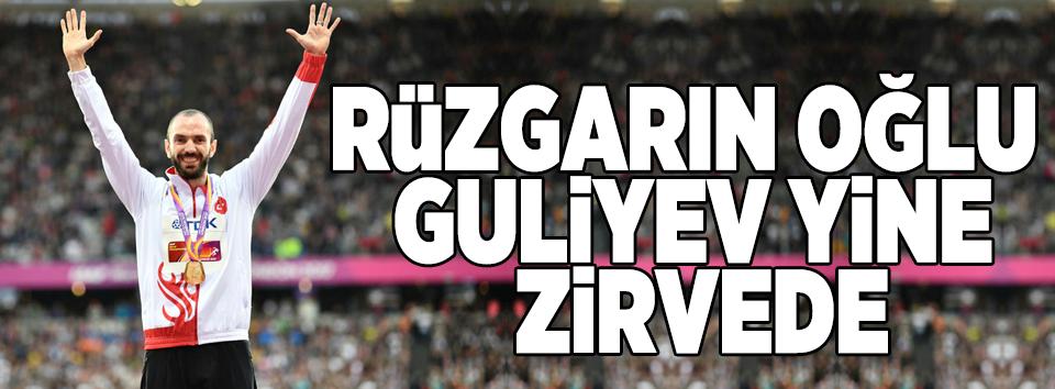 Ramil Guliyev yine zirvede