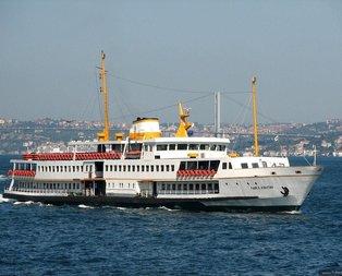 İstanbul Şehir Hatları'nın seferleri iptal edildi