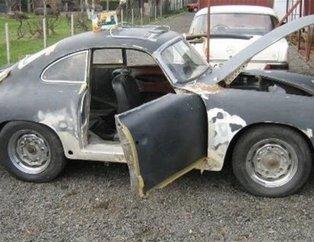 Hurdaya ayrılan Porsche'un inanılmaz değişimi!