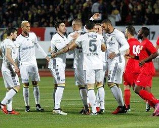 Fener'den Antalya'da 3 gollü parti
