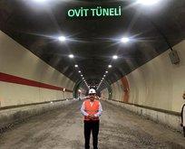 Ovit Tüneli'nde son kontrol