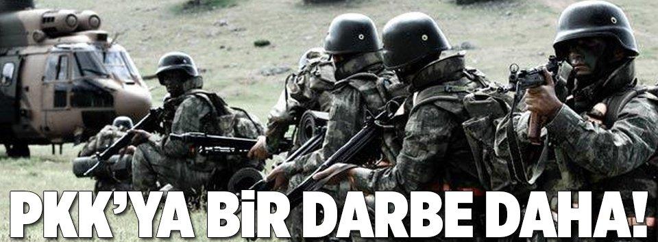 Terör örgütü PKKya bir darbe daha!