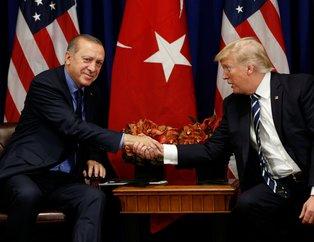 Cumhurbaşkanı Erdoğan New York'ta Trump ile görüştü