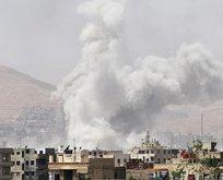 Katil Esed yine yerleşim yerine saldırdı